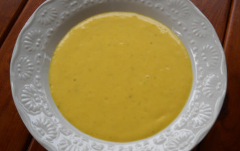 Curried Mango Soup