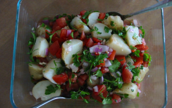 Gazpacho Potato Salad