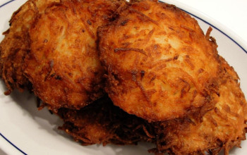 Potato Cheese Latke