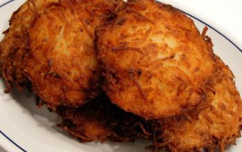 Potato Cheese Latke