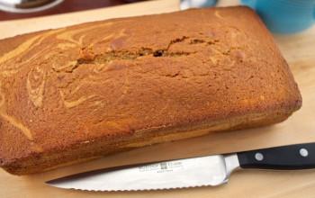 Orange Date Gingerbread Cake