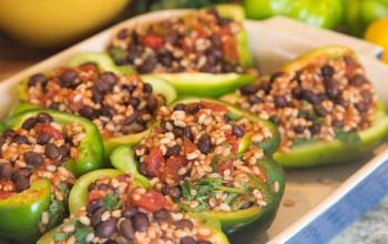 Tex-Mex Stuffed Green Peppers