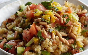 Quinoa and Grilled Pepper Salad