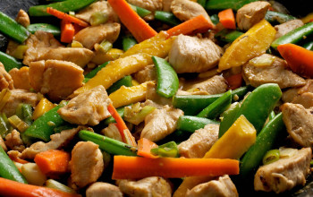 Peanut Butter Chicken Stir Fry