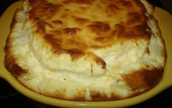 Food Processor Cheese Souffle