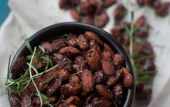 Chipotle Honey-Glazed Nuts