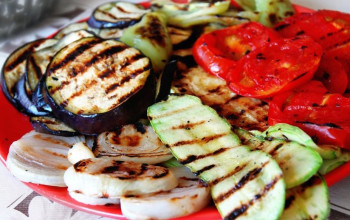 Spanish Spiced Grilled Vegetables