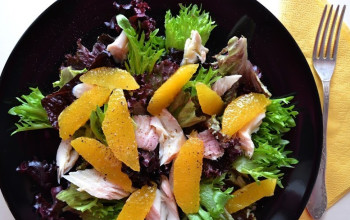 Smoked Trout and Orange Salad