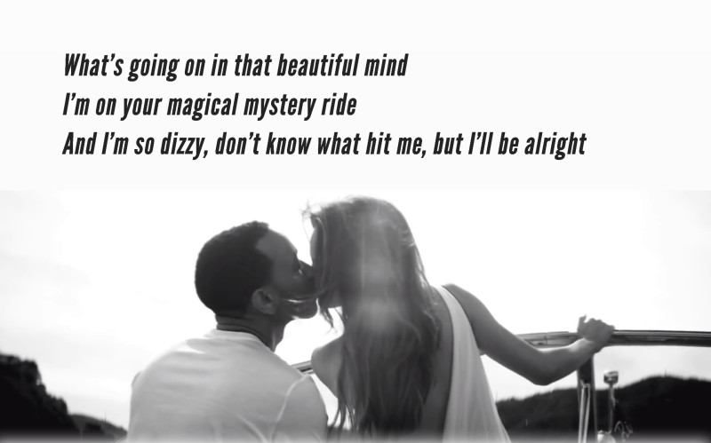 I'm on Your Magical Mystery Ride - John Legend