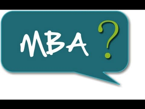 Image result for WHY mba
