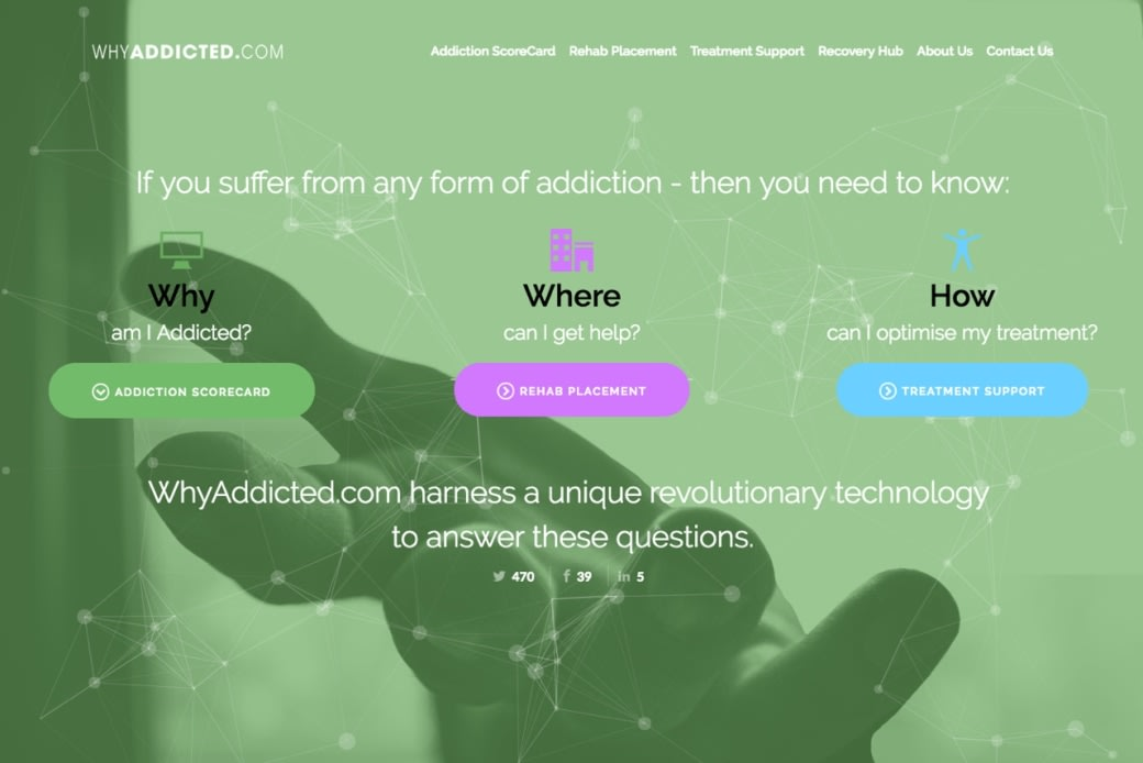 WhyAddicted 2.0 - a redesigned user-experience