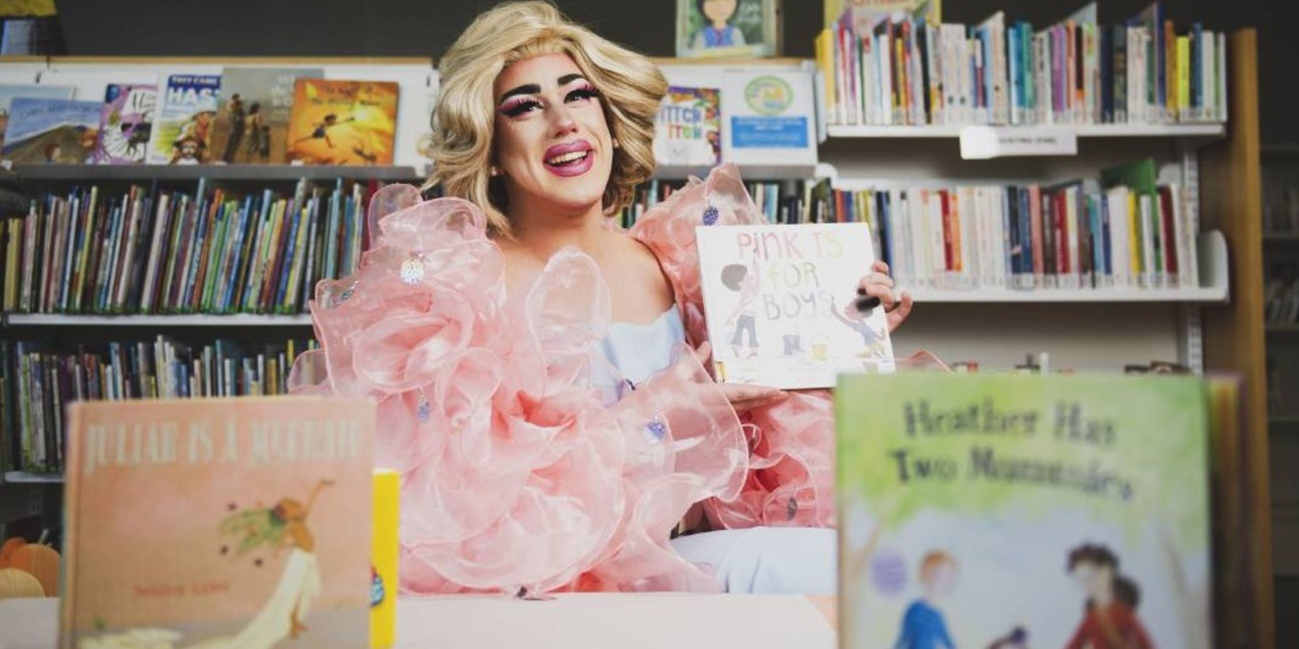 Support Performers with a Drag Queen Storytelling Livestream