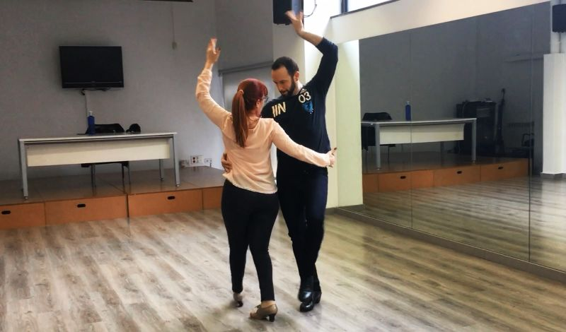 Institut Flamenco de Barcelona: Barcelona Dance Class: Flamenco & Tapas