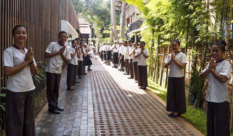 Sala Baï: Siem Reap Discovery Tour: Spend a Night at the Sala Baï School