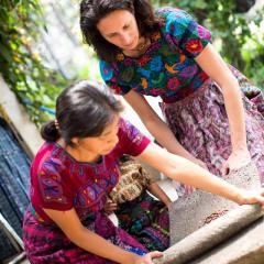Guatemalan artisans homes
