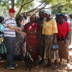 connect with Kenyan village locals