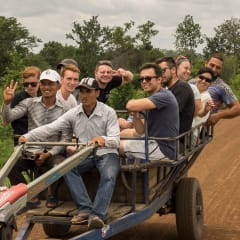 Cambodia village tour