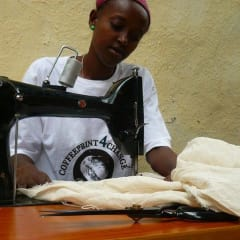 Ethiopian youth learn to sew