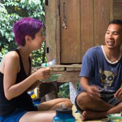 Thai meal - homestay tour