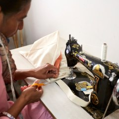 Indian sew - textiles sewing