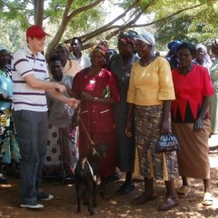 connect with Kenyan village locals