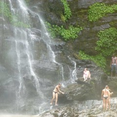 Togo tour - Kpalime waterfalls