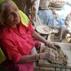 Delhi streets - Potters Market