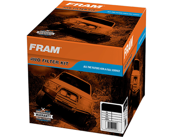 FRAM 4x4 Filter Kits Now Available