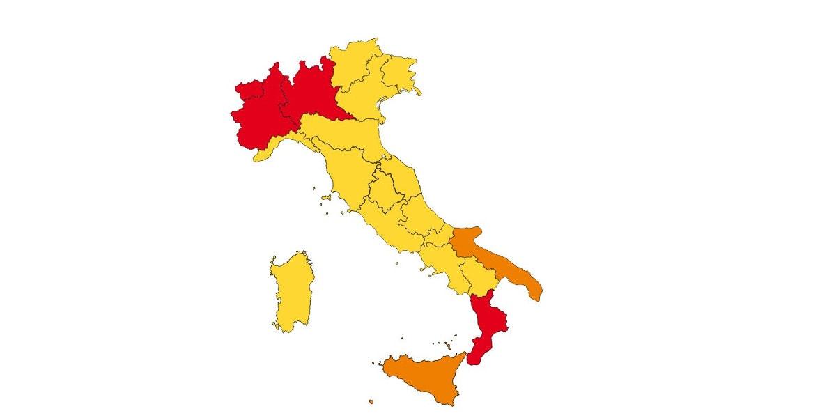 Le FAQ sugli spostamenti nelle regioni dell'area gialla