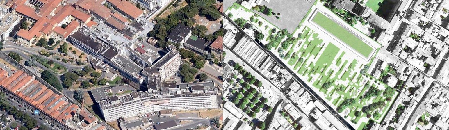 Può partire la demolizione del vecchio ospedale: il parco centrale si avvicina