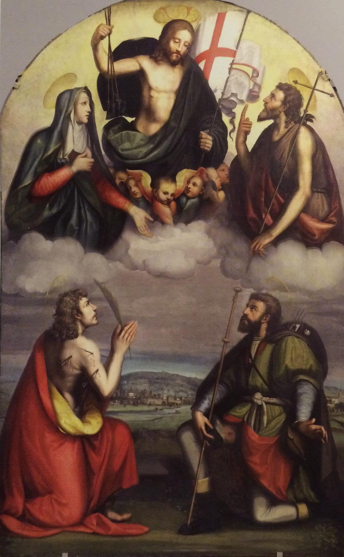 San Sebastiano e la Prato del '500