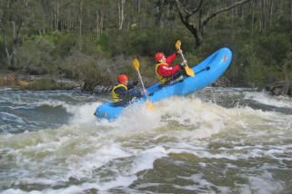 White Water Rafting And Abseiling Adventure