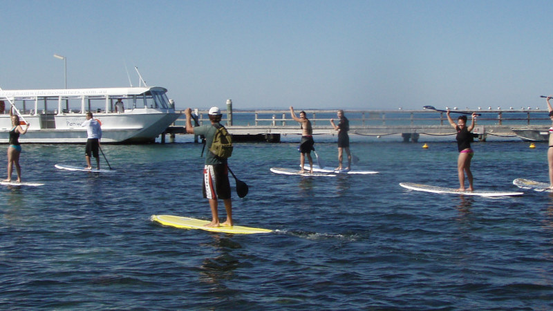 Stand Up Paddle Boarding And Lesson