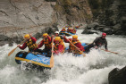 Helicopter and White Water Rafting on the Shotover River