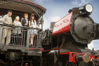Steam Train and Overnight Stay for 2
