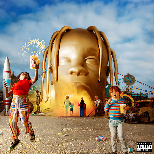 Travis Scott - SICKO MODE album artwork
