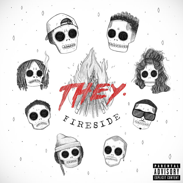 THEY. - Fireside album artwork