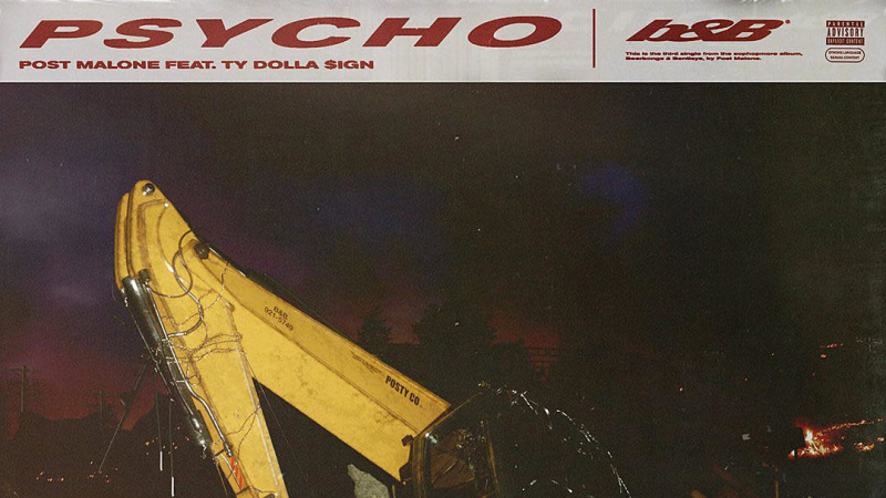 "new music: post malone shares 'beerbongs & bentleys' cut, ""psycho"