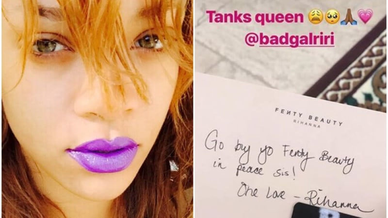 Rihanna sends SZA a Fenty gift card after singer claims she