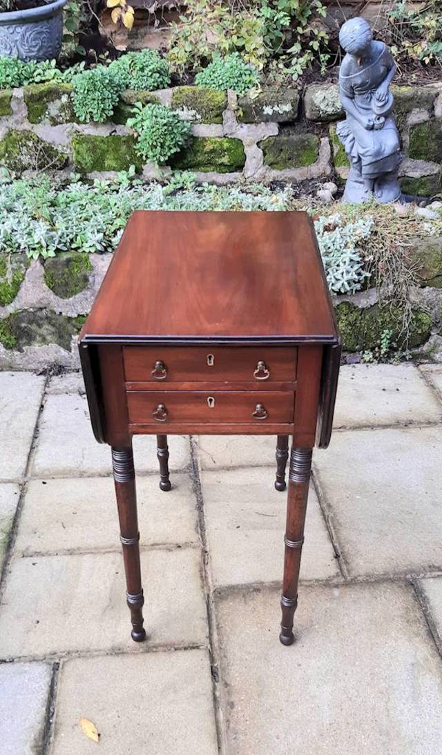 Regency pembroke work table