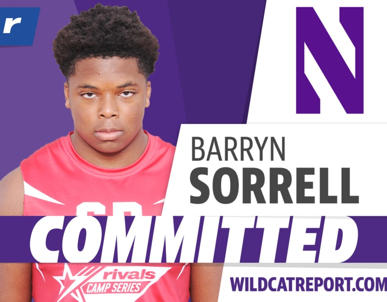 WildcatReport - New Orleans DE Barryn Sorrell commits to Northwestern