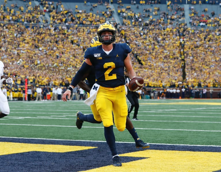 TheWolverine - Offense Notes: Patterson's Arm, Feet Lead U ...