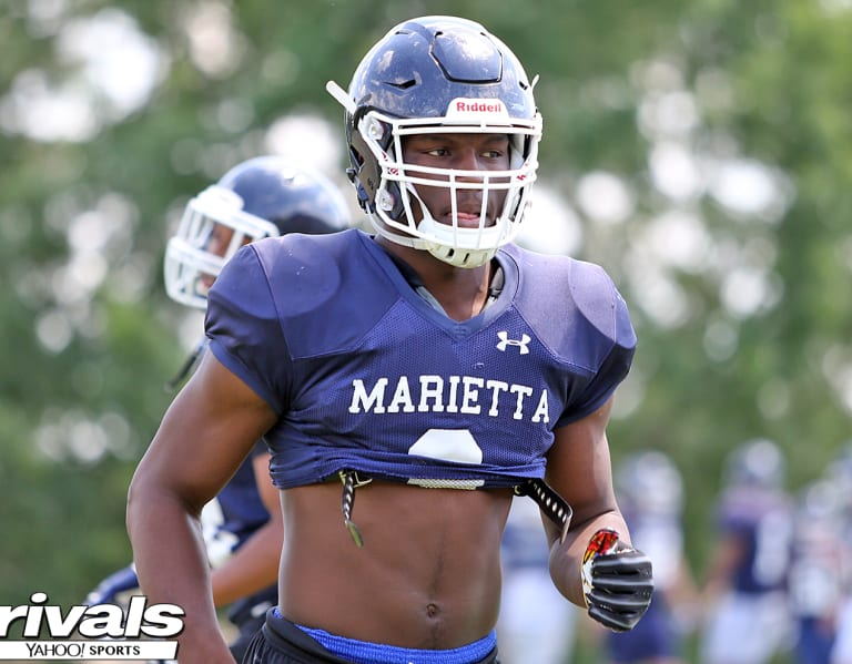 Five-star Gilbert spends 10 hours at UGA, gets to know Hartley