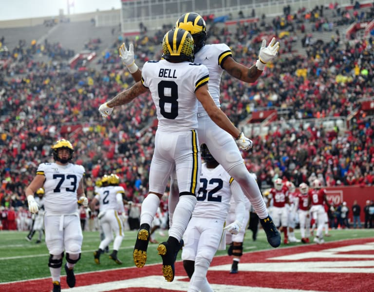 Nico Collins & Ronnie Bell appear to be the Michigan ...