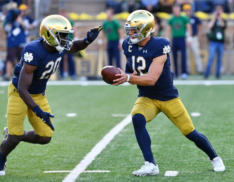 BlueAndGold - Can The Playoff Dominoes For Notre Dame Fall Into Place?
