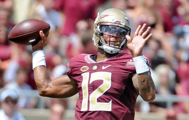 Jackson's 2 TD passes help Virginia Tech handle FSU 24-3