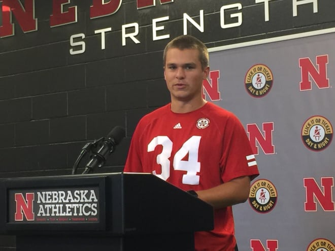 Kicker Drew Brown said he's focus on helping Nebraska win this season, not individual accolades.