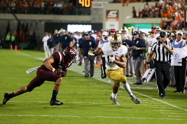 97-yard run helps Irish pull away | Notre Dame