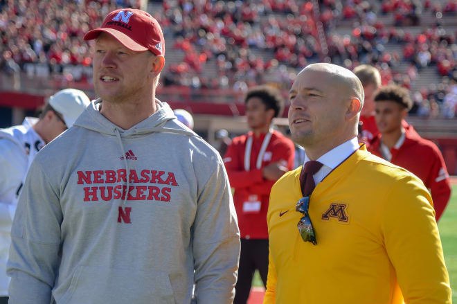 Scott Frost got his first win as a Nebraska head coach last October against Minnesota.