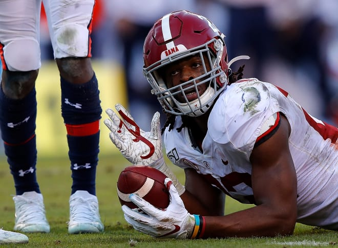 Alabama Crimson Tide running back Najee Harris. Photo | Getty Images